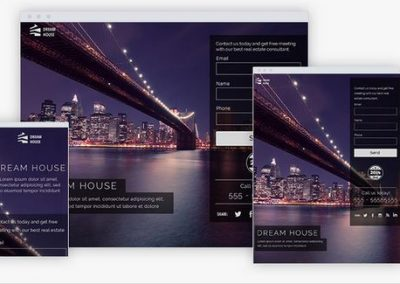Dream House Landing Page